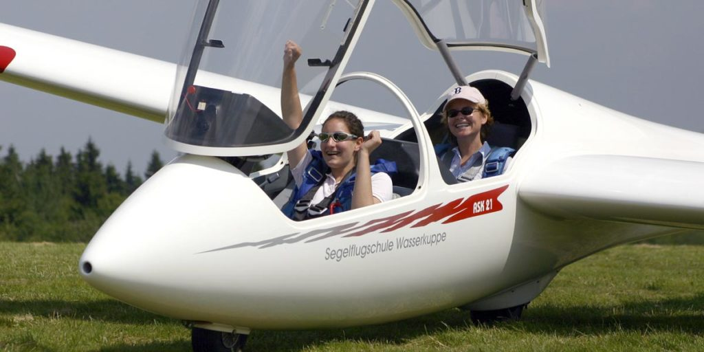 Fliegerschule Wasserkuppe - Segelflug