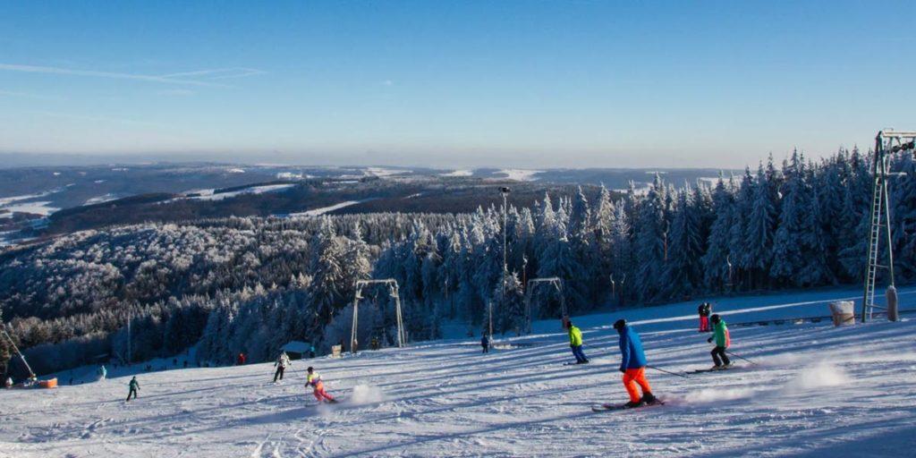 Wintersport: Piste Wasserkuppe